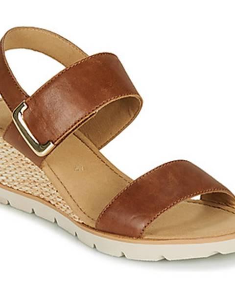 Hnedé sandále Gabor