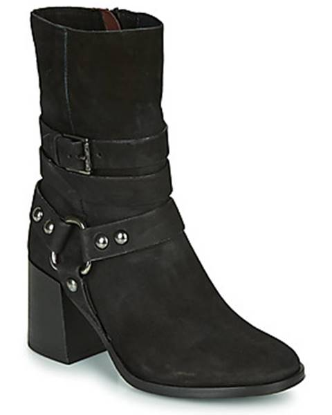 Čierne topánky Mjus