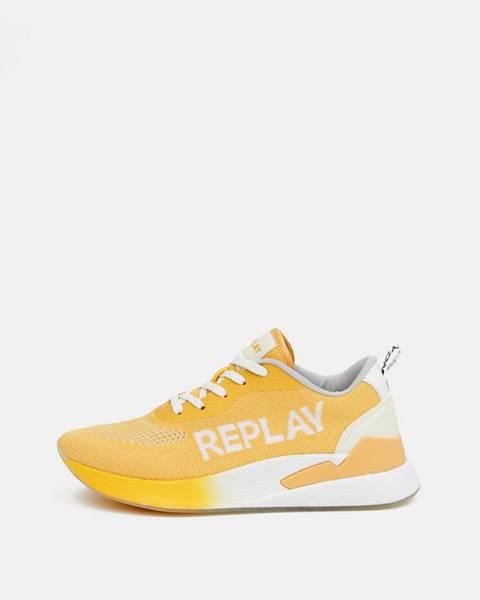 Žlté tenisky Replay