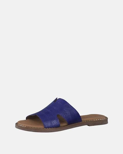Modré papuče Tamaris