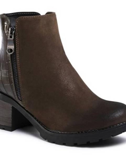 Khaki topánky Jenny Fairy