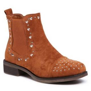 Členkové topánky Jenny Fairy WS2619-06 Materiał tekstylny