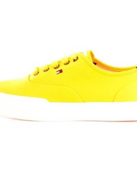 Žlté tenisky Tommy Hilfiger