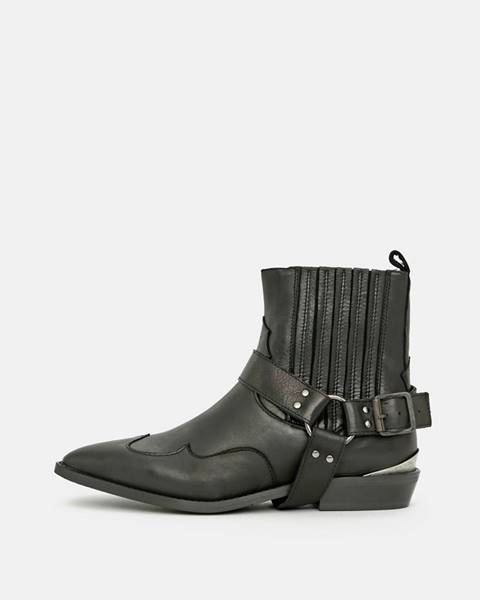 Čierne topánky Selected Femme