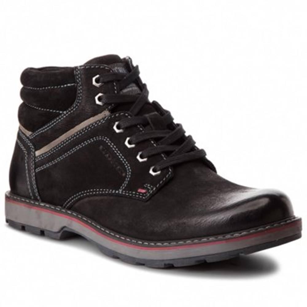Lasocki for men Šnurovacia obuv Lasocki for men MI07-A355-A206-35 nubuk,koža(useň) zamšová,koža(useň) lícová