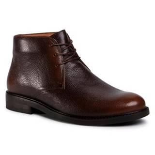 Šnurovacia obuv Gino Rossi MI07-A962-A791-20 koža(useň) lícová