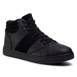 Šnurovacia obuv Lanetti MP07-17013-01 koža ekologická