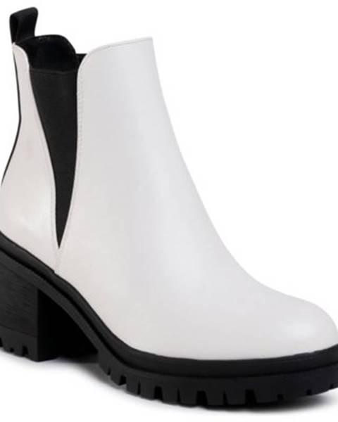Biele topánky Jenny Fairy