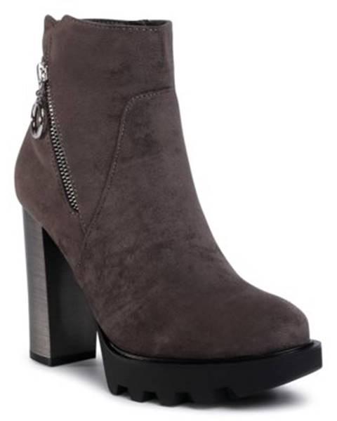 Šedé topánky Jenny Fairy